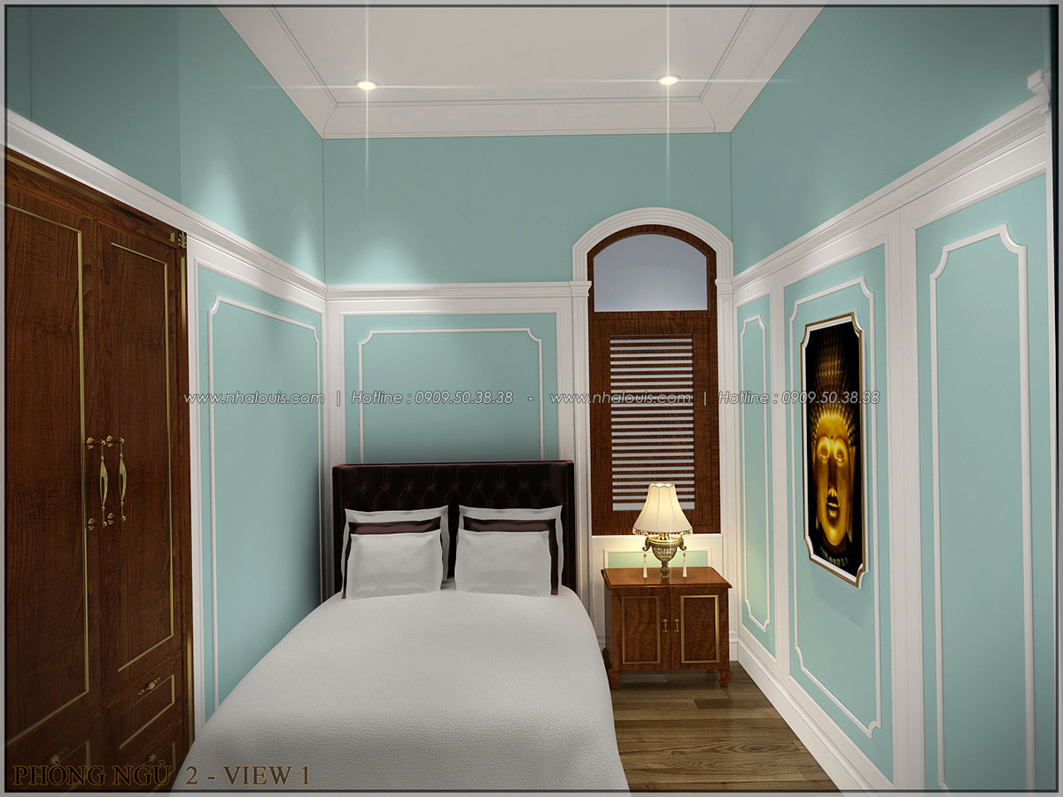 Vẻ đẹp giản đơn của ngôi biệt thự 1 tầng 3 phòng ngủ tại xứ dừa Bến Tre - 24
