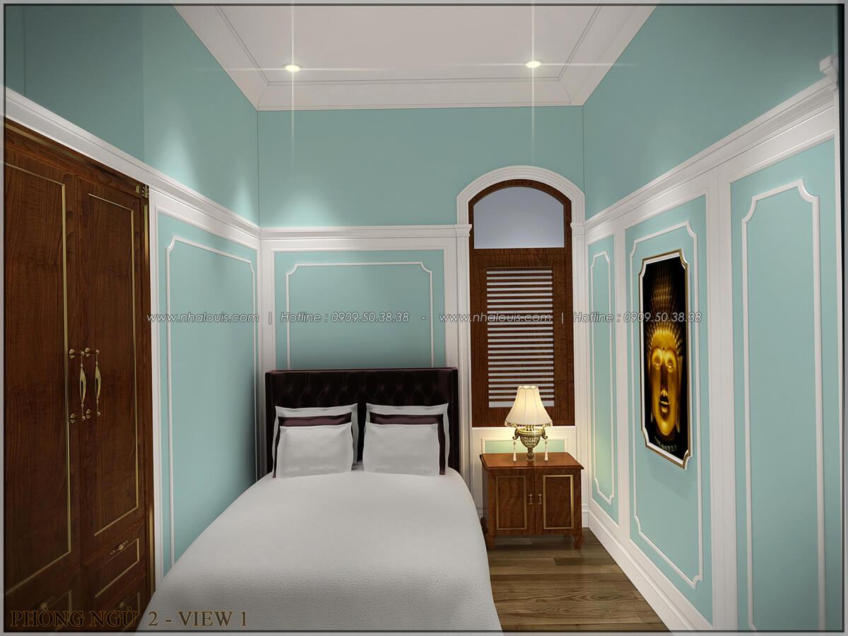 Phòng ngủ ngôi biệt thự 1 tầng 3 phòng ngủ tại xứ dừa Bến Tre - 24