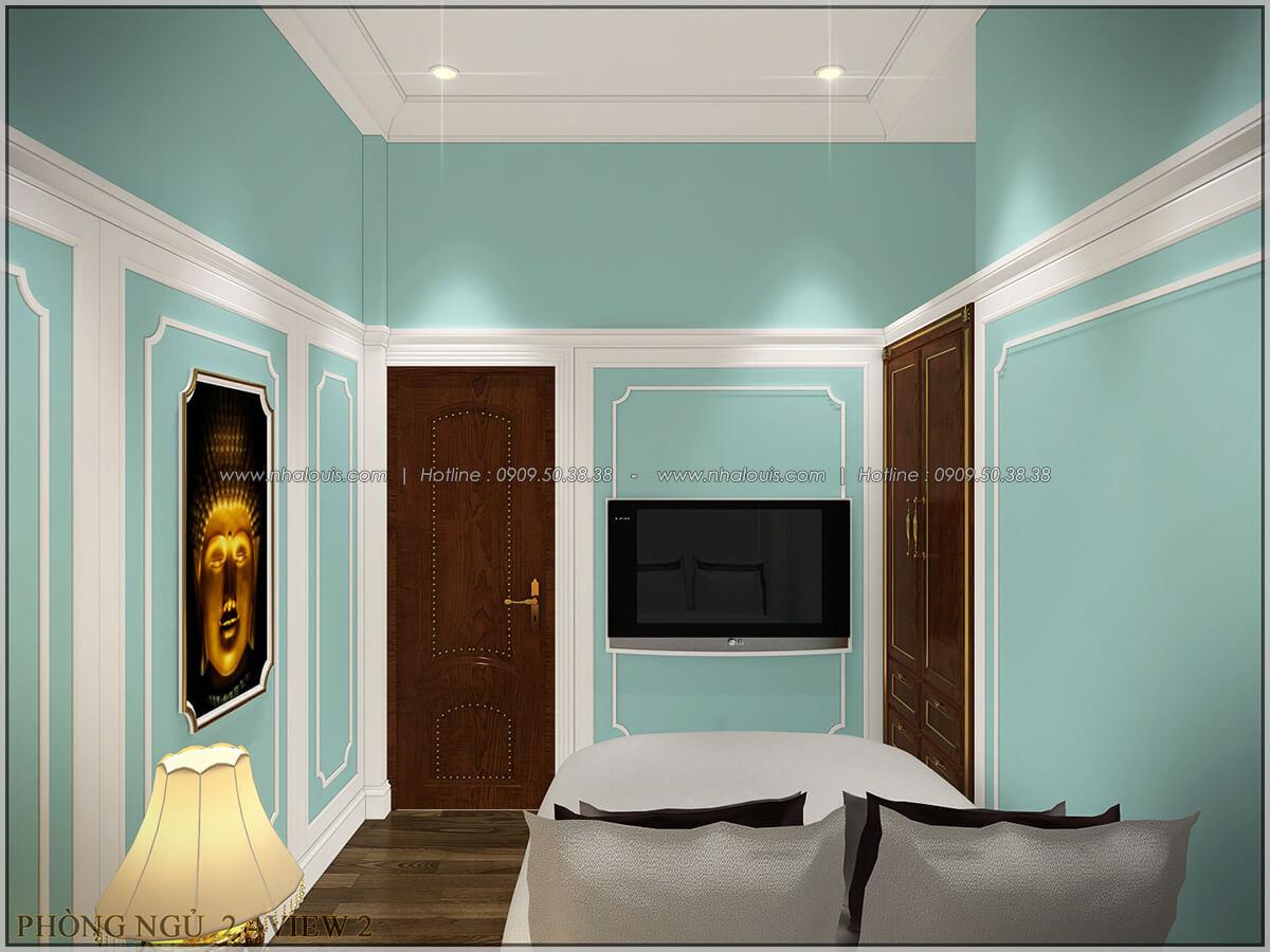 Phòng ngủ ngôi biệt thự 1 tầng 3 phòng ngủ tại xứ dừa Bến Tre - 25