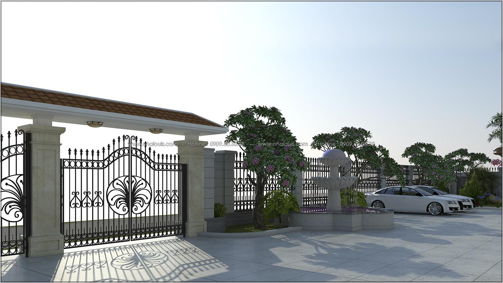 Vẻ đẹp giản đơn của ngôi biệt thự 1 tầng 3 phòng ngủ tại xứ dừa Bến Tre - 3