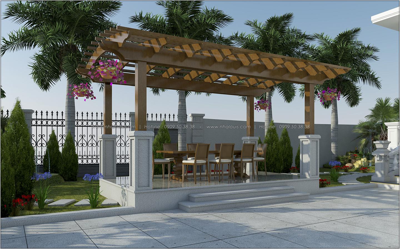 Vẻ đẹp giản đơn của ngôi biệt thự 1 tầng 3 phòng ngủ tại xứ dừa Bến Tre - 4