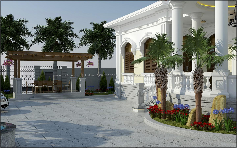 Vẻ đẹp giản đơn của ngôi biệt thự 1 tầng 3 phòng ngủ tại xứ dừa Bến Tre - 5