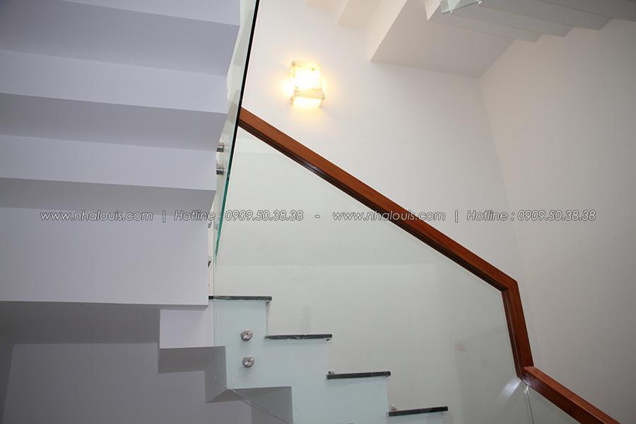 Vệ sinh công nghiệp mẫu nhà ống đẹp 3 tầng 5m