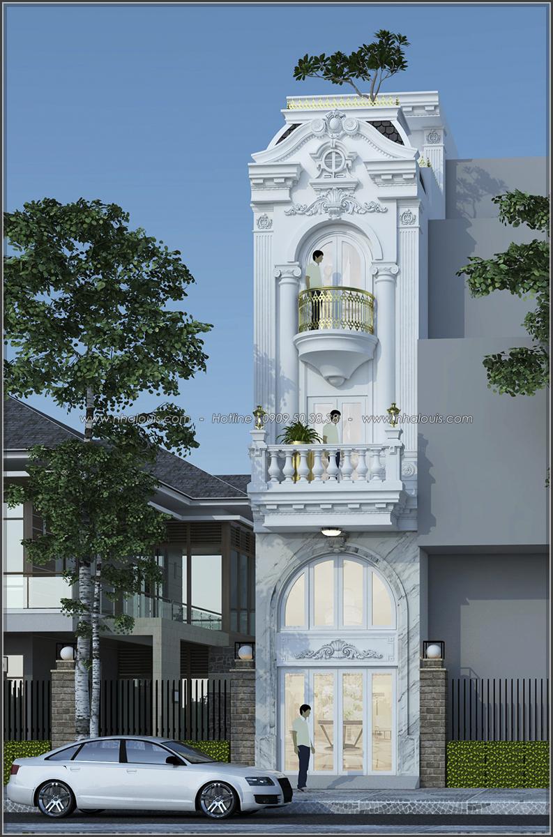 Xiêu lòng với thiết kế nhà ống 5 tầng đẹp cổ điển nhỏ mà chất tại Quận 3 - 01