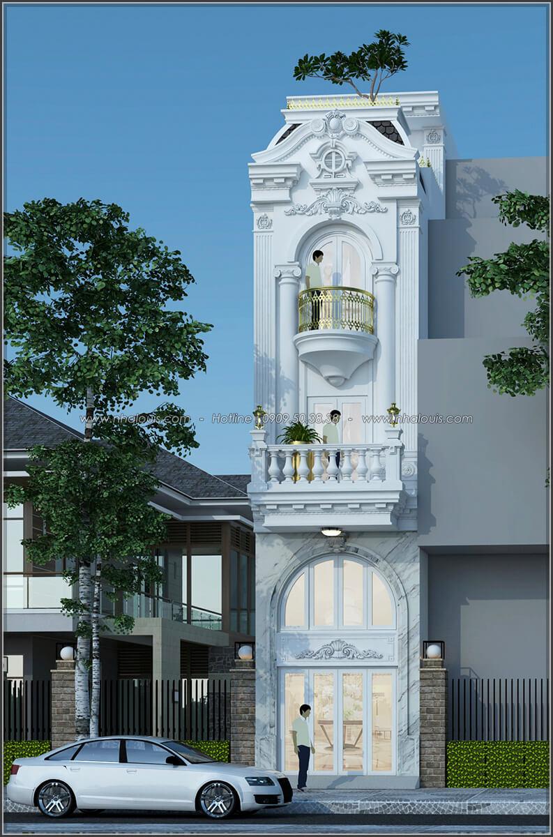 Mặt tiền Xiêu lòng với thiết kế nhà ống cổ điển đẹp cổ điển nhỏ mà chất tại Quận 3 - 01