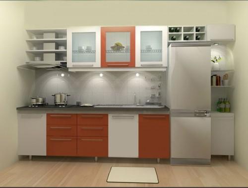 Các mẫu phòng bếp đẹp cho căn nhà có diện tích nhỏ