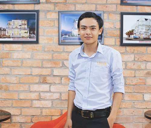 Trưởng Bộ Phận Hoàn Thiện Nội Thất công ty LOUIS- Huỳnh Tấn Tùng