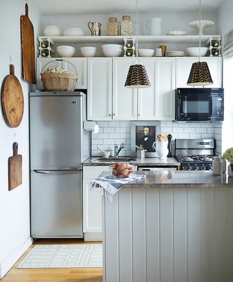 Bất ngờ những căn bếp chưa đầy 4m2 nhưng vẫn tiện nghi