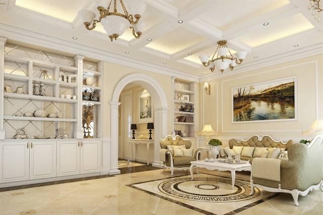 Biệt thự cổ điển 3 tầng đẹp mê hồn