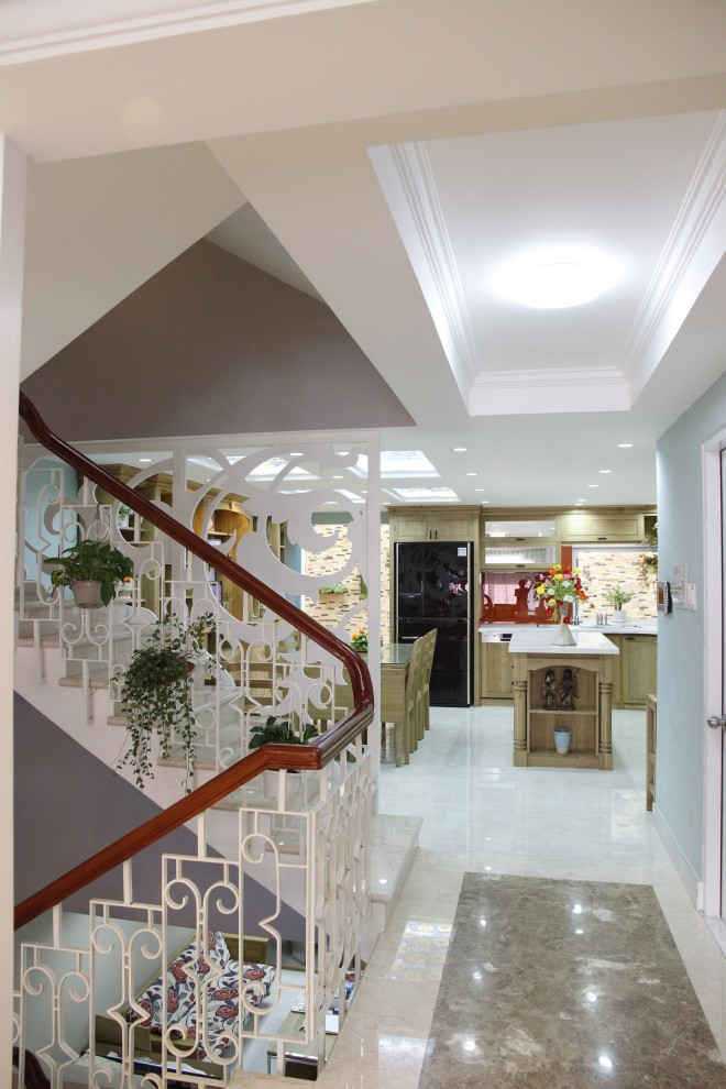 Biệt thự đẹp được xây dựng theo phong cách vintage