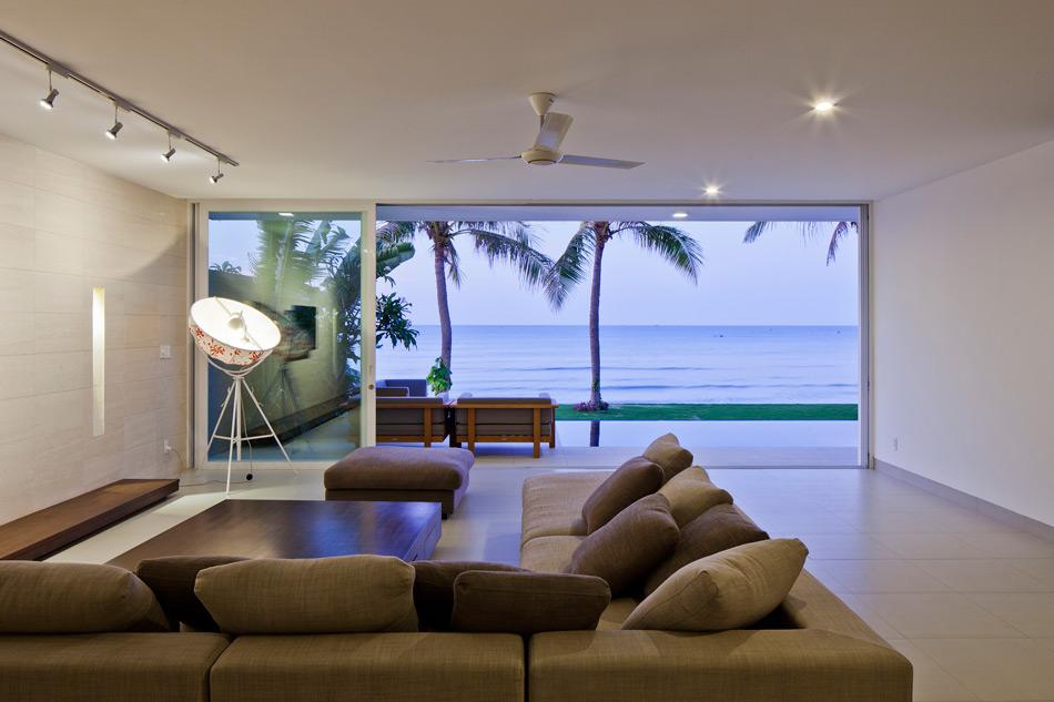 Biệt thự đẹp lung linh ven biển Mũi Né