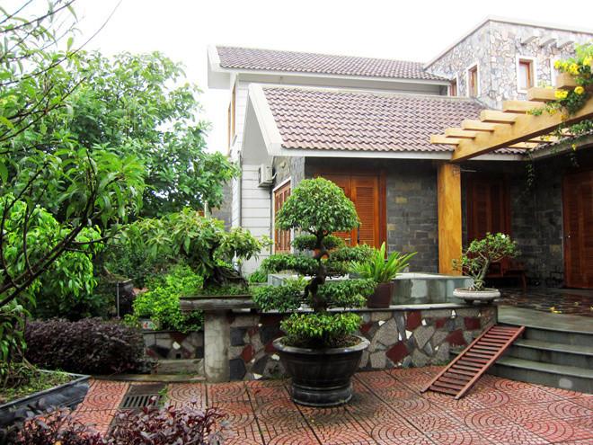 Biệt thự nhà vườn 2 tầng cực ấm áp tại Bắc Giang