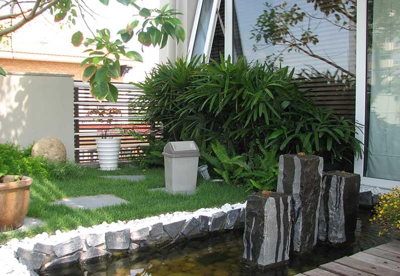 Biệt thự nhà vườn cho gia chủ mệnh Kim