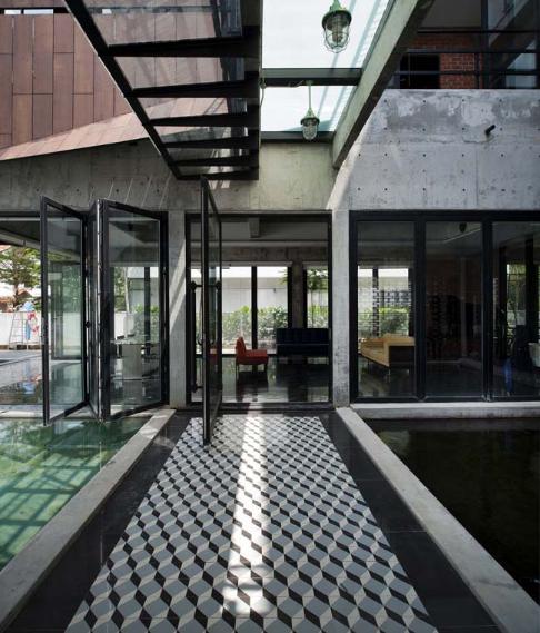 Biệt thự nhà vườn thoáng mát mang phong cách retro