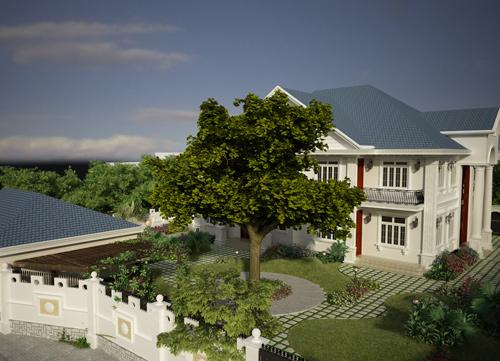 Biệt thự nhà vườn – tổ ấm của doanh nhân đất Hải Phòng