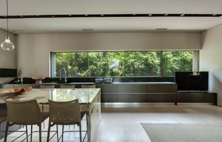 Biệt thự nhà vườn trong thiết kế không gian mở