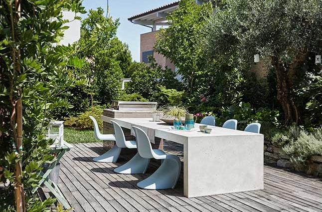 Biệt thự nhà vườn với thiết kế ngoài mát trong ấm