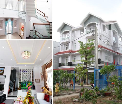 Biệt thự song lập tân cổ điển tại Tân Phú sang trọng