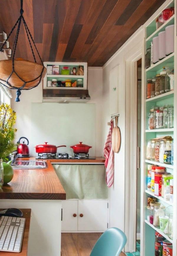 Những căn bếp tí hon đẹp mê ly
