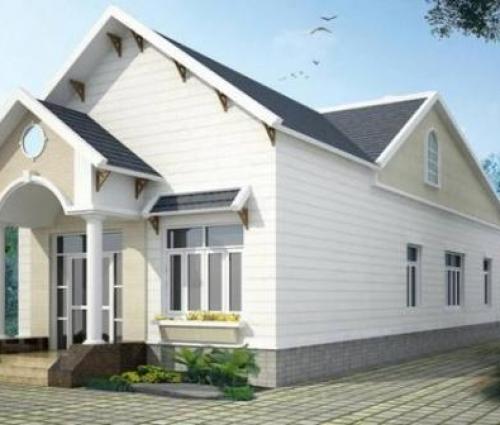 Cận cảnh căn nhà cấp 4 có gác lửng với chi phí xây dựng khiêm tốn