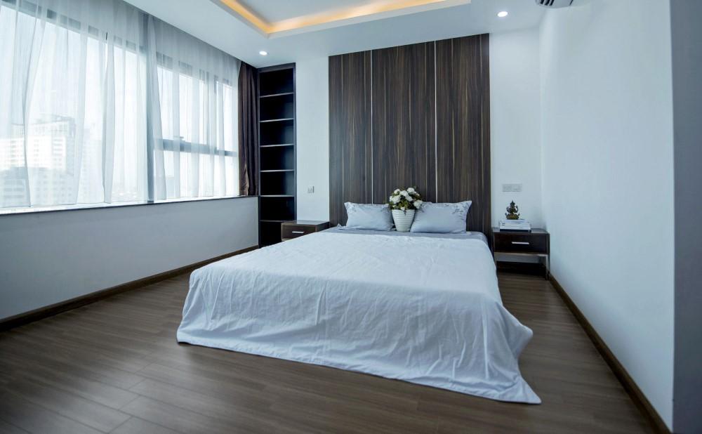 Căn hộ 3 phòng ngủ có không gian sinh hoạt chung rộng, thoáng