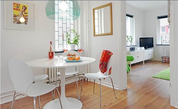 Căn hộ 41 m2 đầy sắc màu cuộc sống