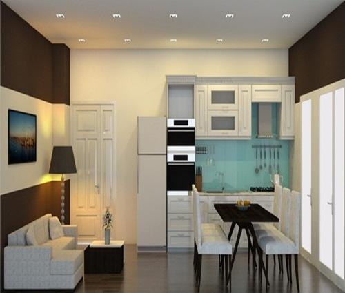 Căn hộ chung cư 70m2 ngăn nắp, hiện đại giá chỉ với 70 triệu đồng