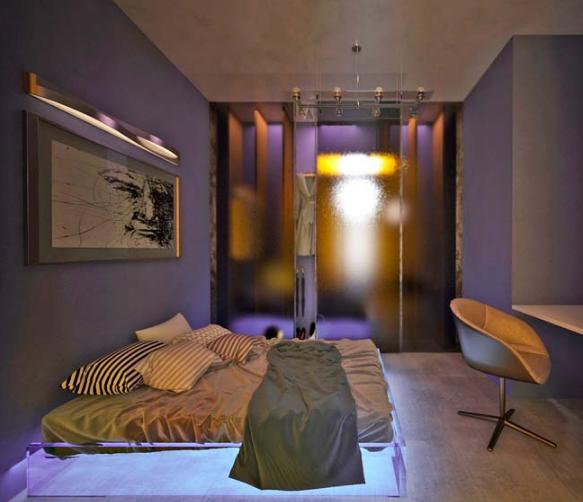 Căn hộ chung cư lung linh nhờ hệ thống đèn LED