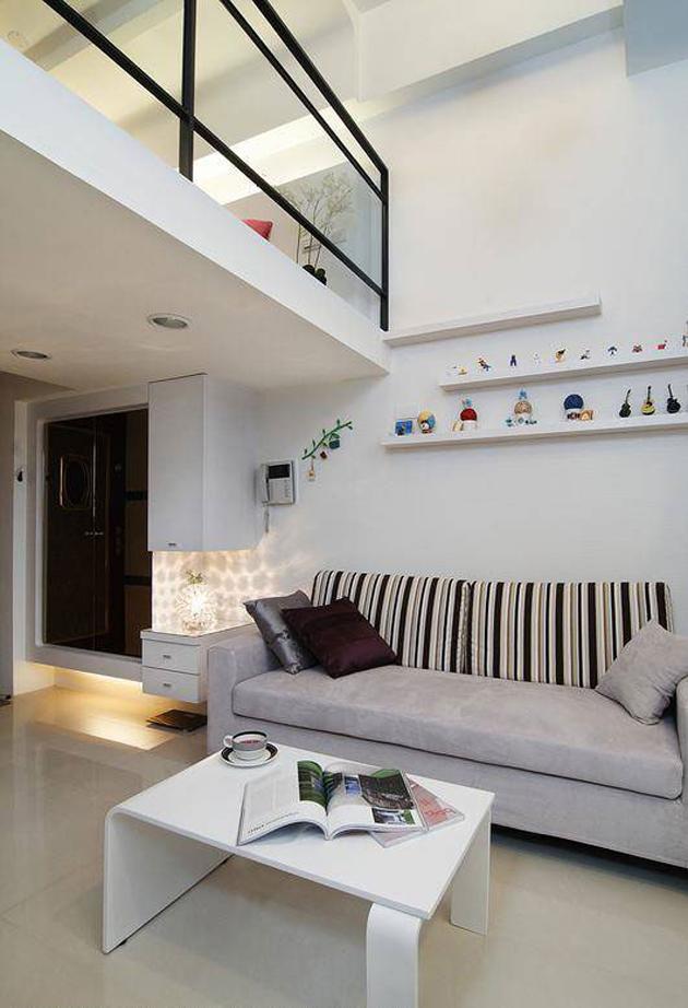 Căn hộ chung cư nhỏ có diện tích 31m2 dành cho đôi vợ chồng trẻ
