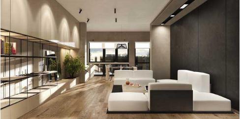 Căn hộ sang trọng, ấm cúng nhờ nội thất hiện đại