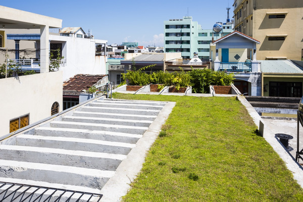 Ấn tượng với thiết kế mẫu nhà ống nhiều cây xanh giữa lòng đô thị - 10