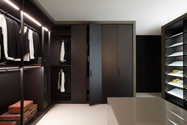 Chiêm ngưỡng 17 thiết kế phòng thay đồ theo xu hướng mở