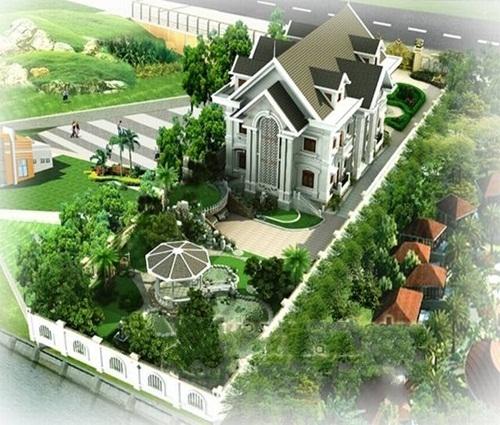 Choáng với căn biệt thự vườn 2 tầng trên mảnh đất 2000m2