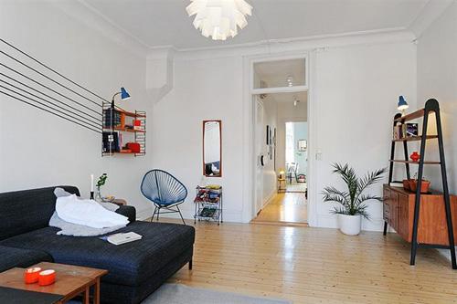 Choáng với căn hộ 64m2 được bày trí đẹp mắt