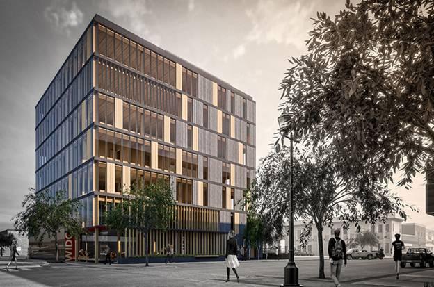 Cùng ngắm nhìn tòa nhà văn phòng bằng gỗ lớn nhất thế giới