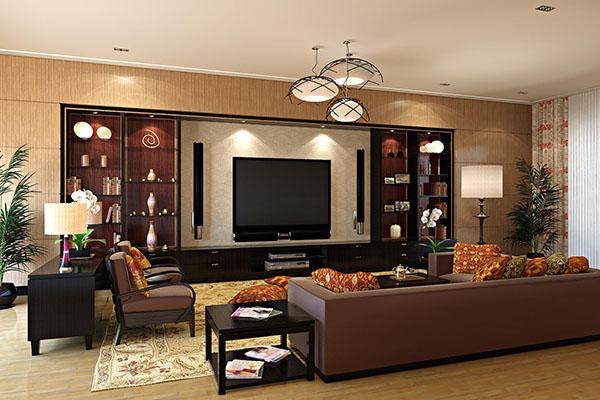 Đẳng cấp với thiết kế phòng khách dành cho biệt thự