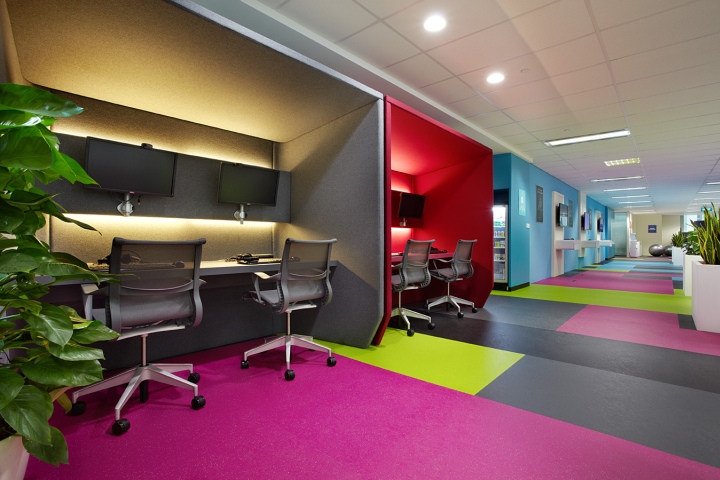 Đầy sức sống với những sắc màu không gian làm việc của bạn - 11