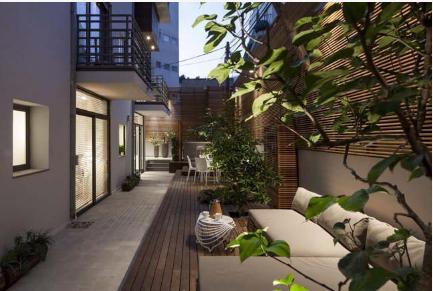 Đẹp lạ lùng căn nhà phố có sân vườn xanh mát mướt mắt - 07