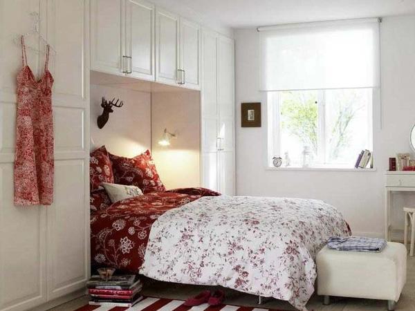 Đẹp và tiện dụng với mẫu thiết kế phòng ngủ có diện tích nhỏ