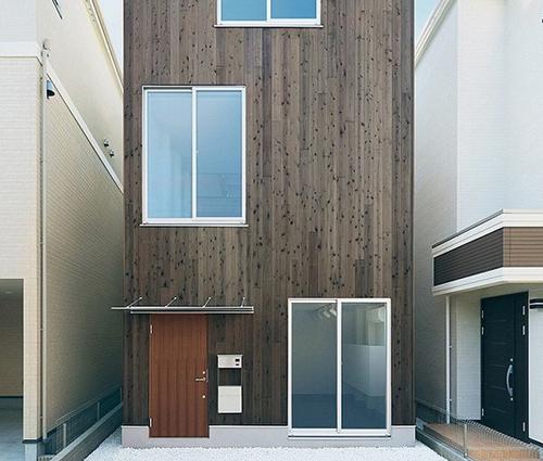 Ấn tượng với thiết kế nhà ống kiểu Nhật độc đáo và tinh tế