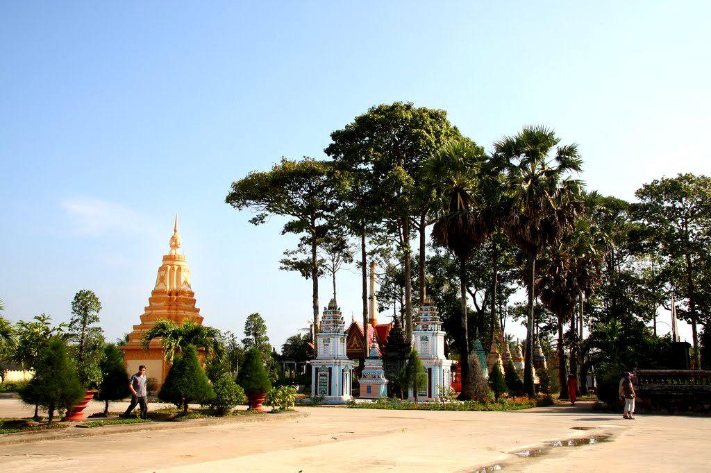 Ghé thăm chùa Xiêm Cán – Bạc Liêu
