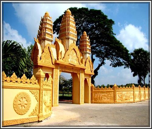 Ghé thăm chùa Xiêm Cán – Bạc Liêu: Nét độc đáo văn hóa