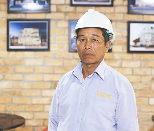 Giám Đốc Xí Nghiệp Thi Công Số 4 công ty LOUIS- Nguyễn Văn Điền