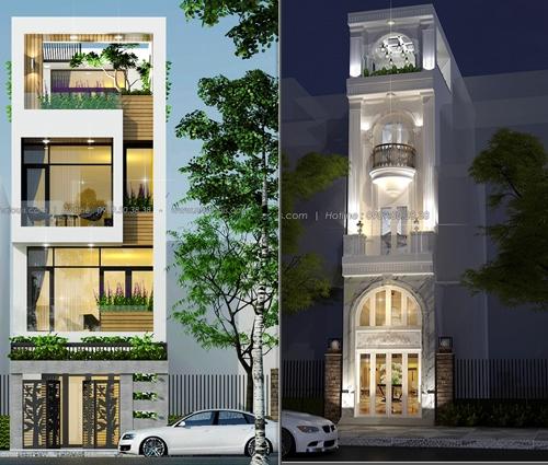 Hé lộ 2 xu hướng thiết kế nhà phố đẹp chưa bao giờ lỗi thời
