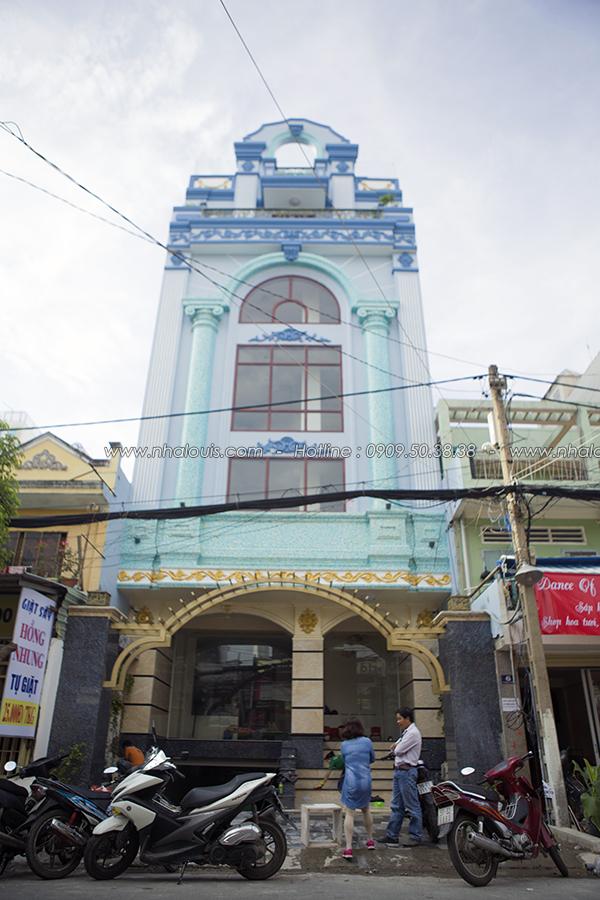 Vẻ đẹp đẳng cấp công trình nhà ở kết hợp văn phòng cho thuê ở Tân Bình - 01