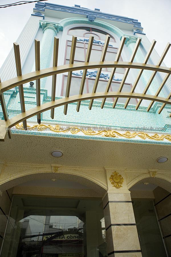 Vẻ đẹp đẳng cấp công trình nhà ở kết hợp văn phòng cho thuê ở Tân Bình - 02