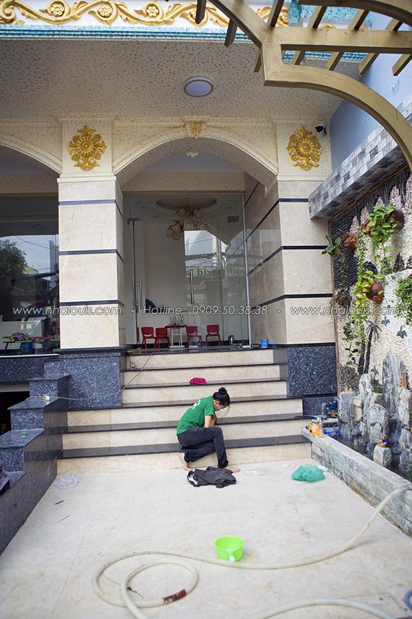 Vẻ đẹp đẳng cấp công trình nhà ở kết hợp văn phòng cho thuê ở Tân Bình - 05