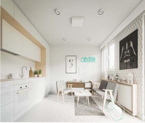 Hô biến căn hộ 20m2 thành không gian ngập tràn ánh sáng