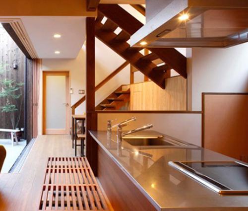 Học người Nhật thiết kế không gian bếp thông minh, hiện đại