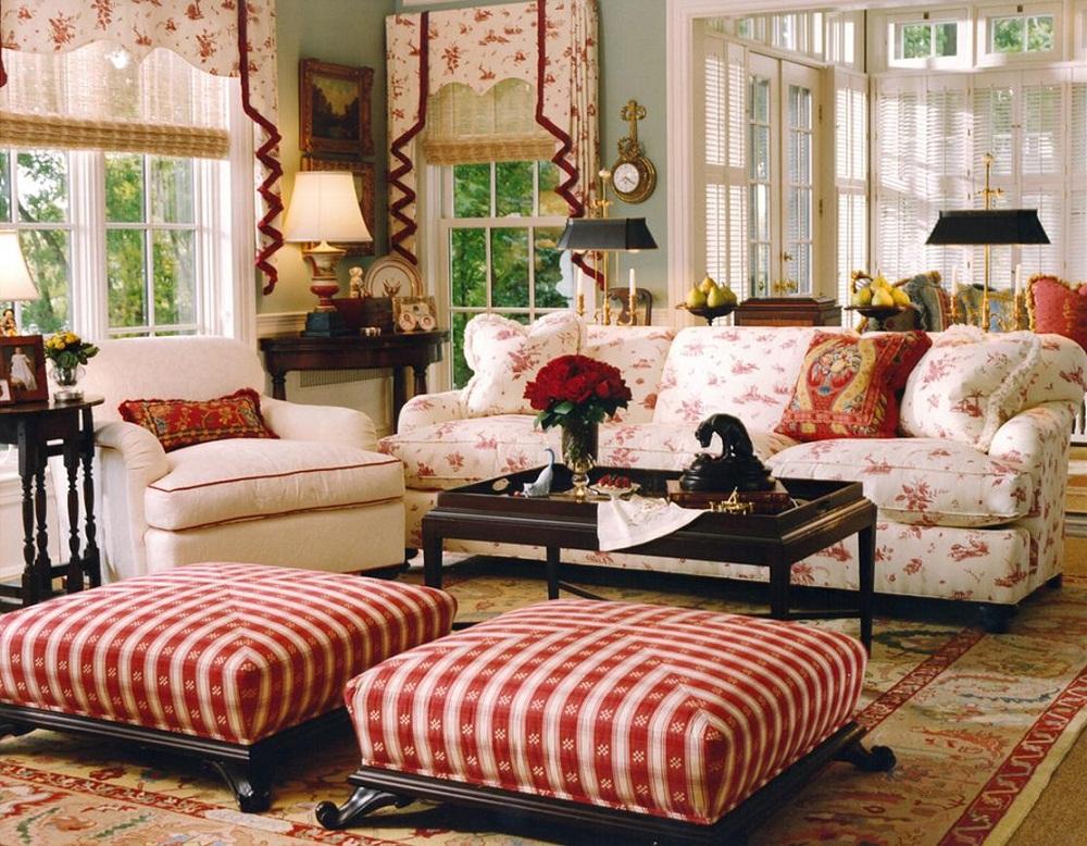 Hút mắt với những phòng khách mang phong cách cổ điển